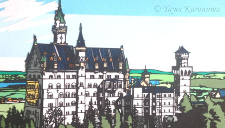 paper-cutting_neuschwanstein