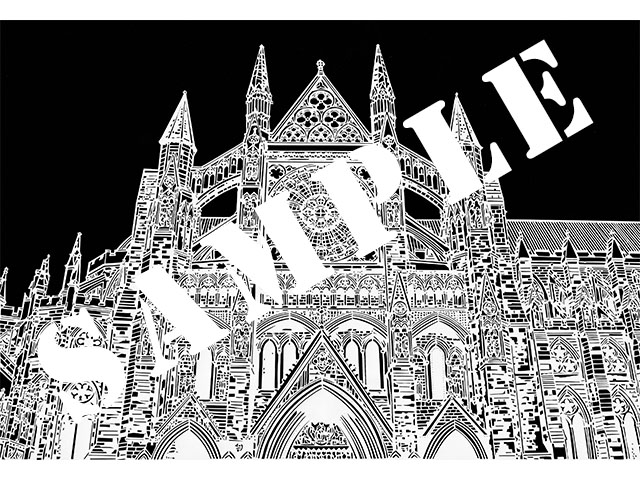 paper-cutting_westminster-abbey